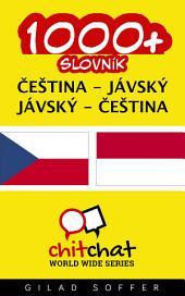 1000+ Čeština - Jávský Jávský - Čeština Slovník