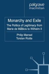 Monarchy And Exile Book PDF