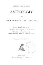 Astronomy for High Schools and Colleges