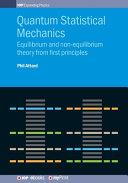 Quantum Statistical Mechanics PDF