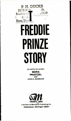 The Freddie Prinze Story