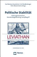 Politische Stabilit  t PDF