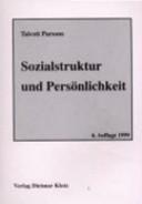 Sozialstruktur und Pers  nlichkeit PDF