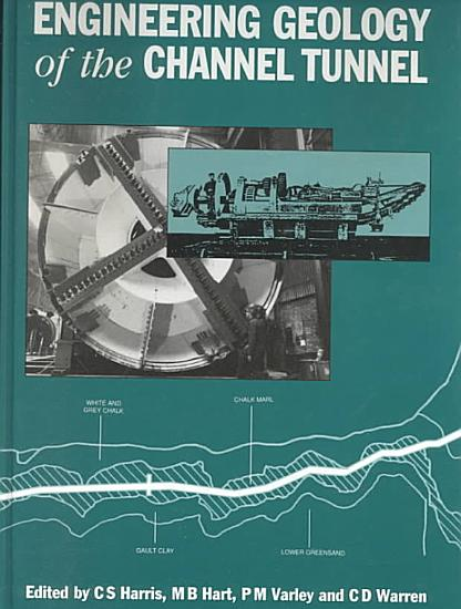 Engineering Geology of the Channel Tunnel PDF