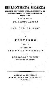 Pindari Carmina quae supersunt, cum deperditorum fragmentis selectis: Volume 2