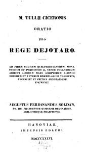 Oratio pro rege Deiotaro