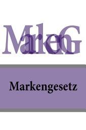 Markengesetz - MarkenG