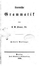 Lateinische Grammatik von C. G. Zumpt