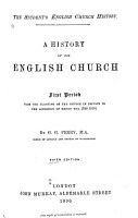 A History of the English Church PDF
