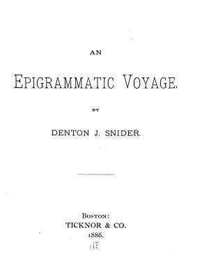 An Epigrammatic Voyage