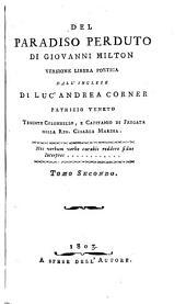 Del Paradisio perduto di Giovanni Milton: Versione libera poetica dall'inglese, Volume 2