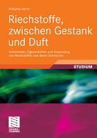 Riechstoffe  zwischen Gestank und Duft PDF