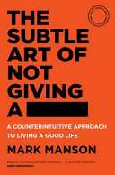 Download The Subtle Art of Not Giving A   Book