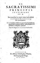 Iuris enucleati ex omni vetere iure collecti Digestorum seu Pandectarum libri quinquaginta: Volume 1