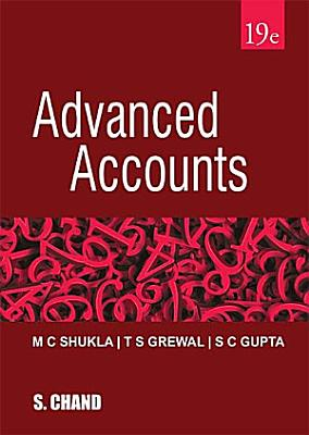 Advanced Accounts  19th Edition  Library Edition