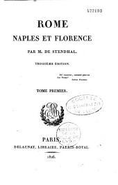 Rome, Naples et Florence en 1817