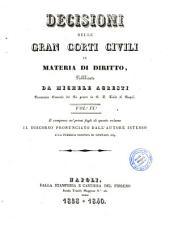 Decisioni delle Gran Corti civili in materia di diritto: 9
