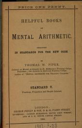 Helpful books of mental arithmetic. Standard 1(-6).