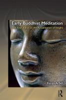Early Buddhist Meditation PDF