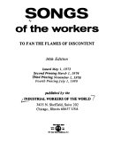 Songs of the Workers PDF
