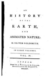 An History of the Earth and Animated Nature: Volume 4