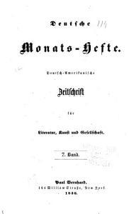 Deutsche monats hefte PDF