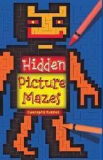 Hidden Picture Mazes PDF