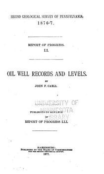 Report of Progress 1874 1889 A Z  PDF