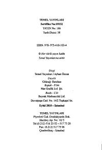 Atat  rk un      muhalifi  K  z  m Karabekir PDF