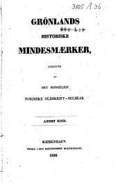 Grønlands Historiske Mindesmærker: Bind 2