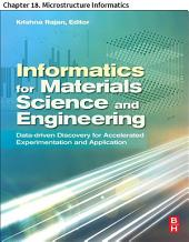 Materials Science and Engineering: Chapter 18. Microstructure Informatics