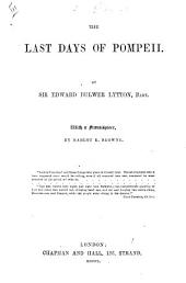 The last days of Pompeii ... Copyright edition