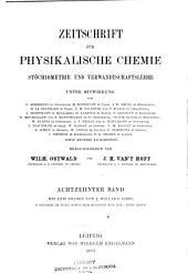Zeitschrift für physikalische Chemie: Bände 16-18