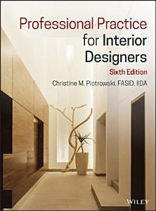 Professional Practice for Interior Designers Book
