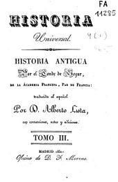 Historia antigua: Volumen 3
