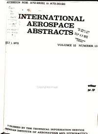 International Aerospace Abstracts PDF