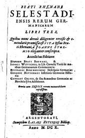 Rerum Germanicarum libri tres