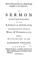 God s Patience towards a sinful people consider d and improv d  a sermon occasion d by the     defeat of the Rebels in Scotland  etc PDF