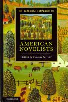 The Cambridge Companion to American Novelists PDF