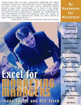 Download Excel for Marketing Managers Book