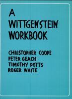 A Wittgenstein Workbook PDF