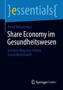 Share Economy im Gesundheitswesen PDF