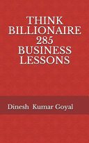Think Billionaire 285 Business Lessons Book PDF