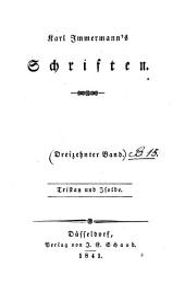 Bd. Tristan und Isolde