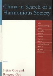 China in Search of a Harmonious Society