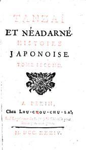 Tanzaï et Néadarné, histoire japonoise: Volume2
