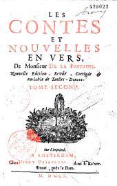 Les Contes et Nouvelles en vers, de Monsieur de La Fontaine. Tome second