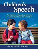Children's Speech