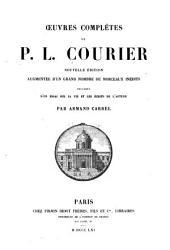 Oeuvres completes de P.L. Courier