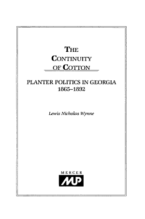 The Continuity of Cotton